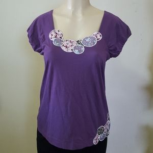 Anthropologie Ric Rac  New top size M